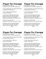 Courage-prayer